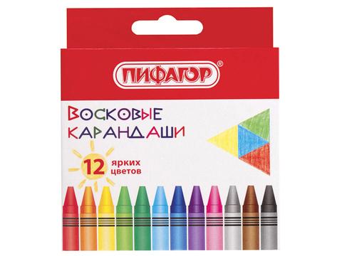 227279 Восковые карандаши, набор 12 цв
