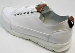 Легкие дышащие кроссовки мужские Faber 193909-3 White.