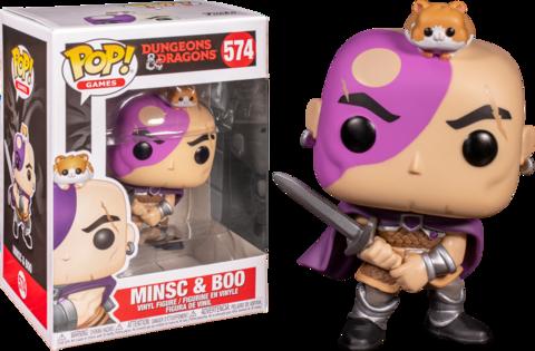 Фигурка Funko Pop! Games: Dungeons & Dragons - Minsc & Boo