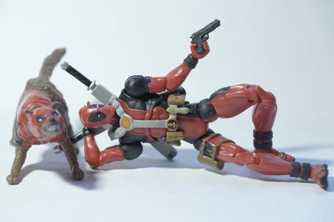 Deadpool Marvel Action Figure 3.75