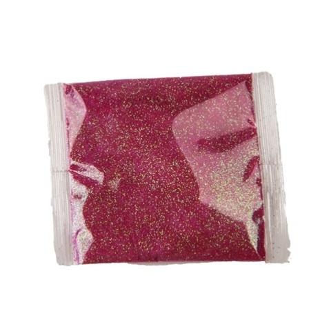 Блёстки в пакетике 80 г, цвет: малиновый