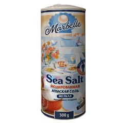 Соль морская Marbelle йодированная 500 г