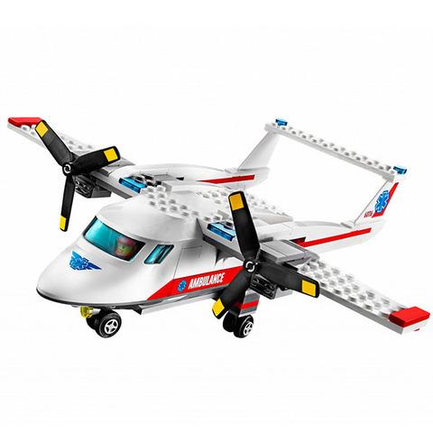 LEGO City: Самолет скорой помощи 60116 — Ambulance Plane — Лего Сити Город