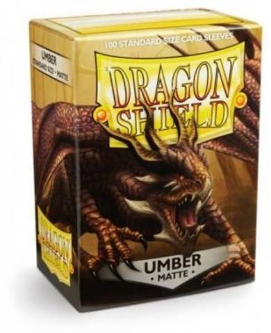 Протекторы Dragon Shield матовые Umber (100 шт.)