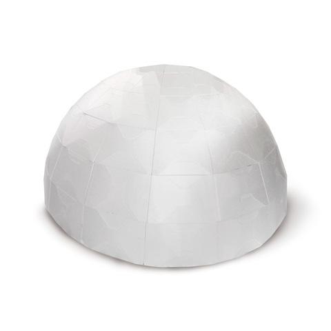 Макет купольного дома в масштабе 1:5