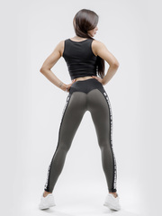 Лосины NEBBIA Power Your Hero iconic leggings 531 SAFARI