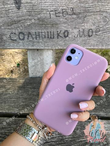 iPhone 11 Silicone Case Full /blueberry/