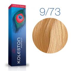 Wella Professional KOLESTON PERFECT 9/73 (Очень светлый блонд, коричнево-золотистый) - Краска для волос