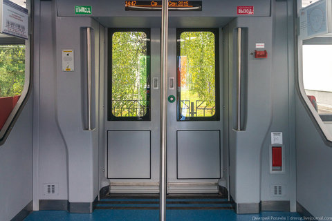 Система оповещения пассажиров электропоездов