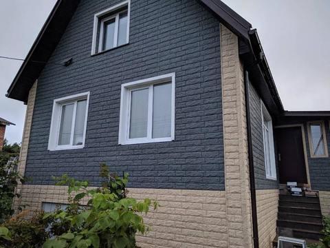 Сайдинг Ю пласт Стоун Хаус золотистый камень 3025х225 мм