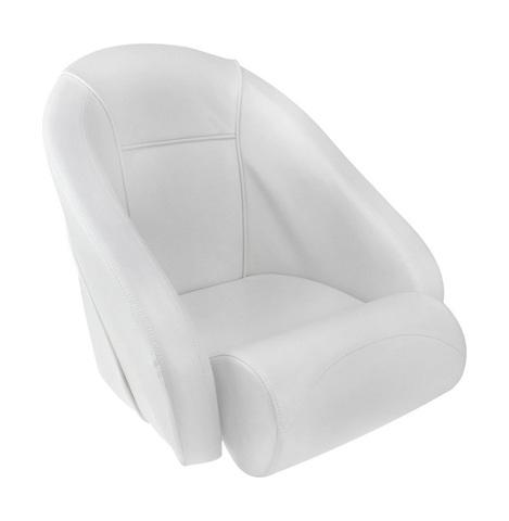 Кресло ROMEO мягкое, на подставке, белое