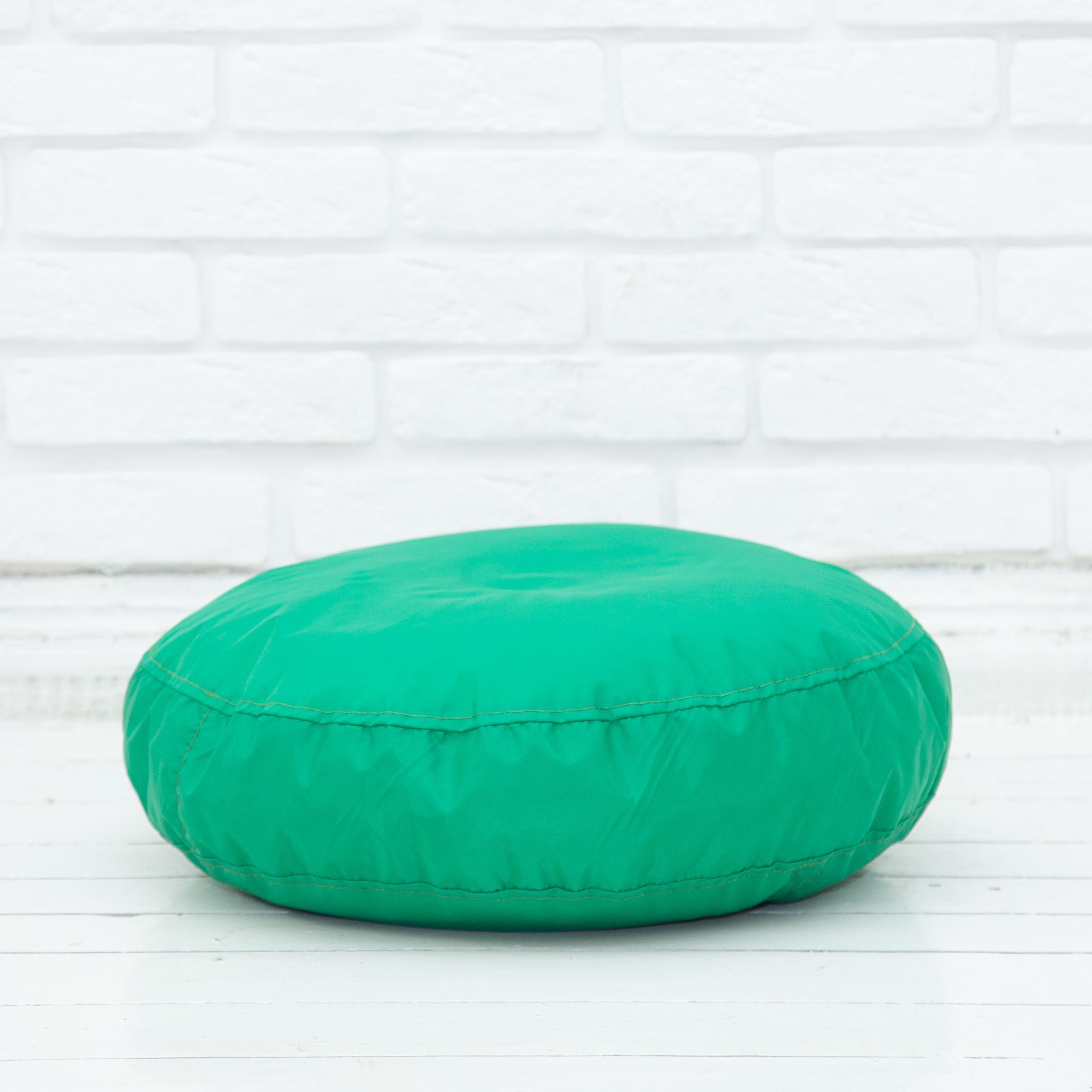Плюшка плащёвка 50*10 см (зелёная)