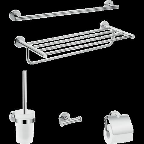 Комплект аксессуаров Hansgrohe Logis Set Universal 5-в-1 41728000