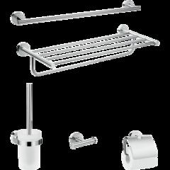 Комплект аксессуаров Hansgrohe Logis Set Universal 5-в-1 41728000 фото