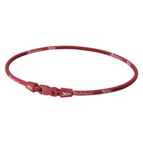 Ожерелье PHITEN RAKUWA NECKLACE X50 (красный)