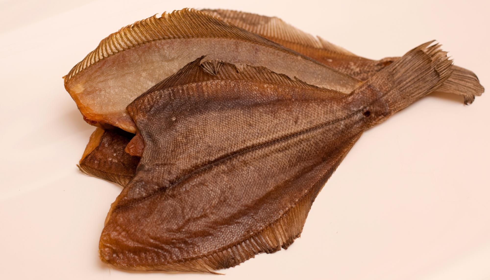 Камбала-ёрш вяленый мурманский (кг)