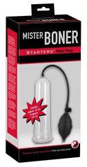 Помпа для пениса Mister Boner Starter - 21,5 см. -