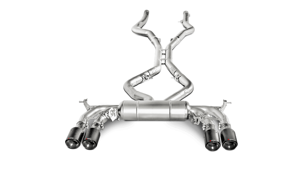 Выхлопная система AKRAPOVIC для BMW X5M F85