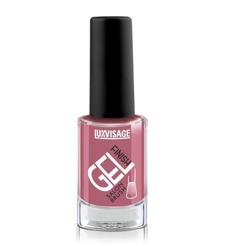 LuxVisage Gel Finish Лак для ногтей тон 15 (темно-розовый) 9г