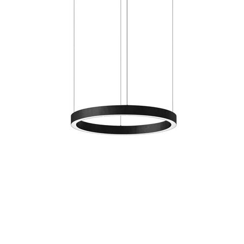 Подвесной светильник копия Light Ring by HENGE D50 (черный)