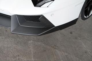 Карбоновый спойлер переднего бампера Novitec Style для Lamborghini Aventador