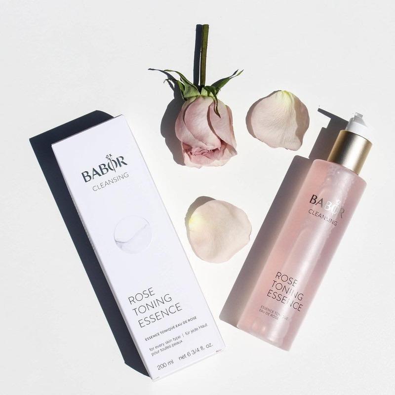 Эссенция-тоник с розовой водой Babor Cleansing Toning Rose Essence 200ml