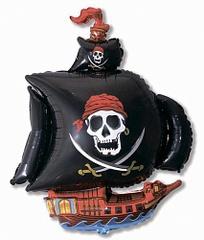 """Фигура """"Пиратский корабль"""" черный"""