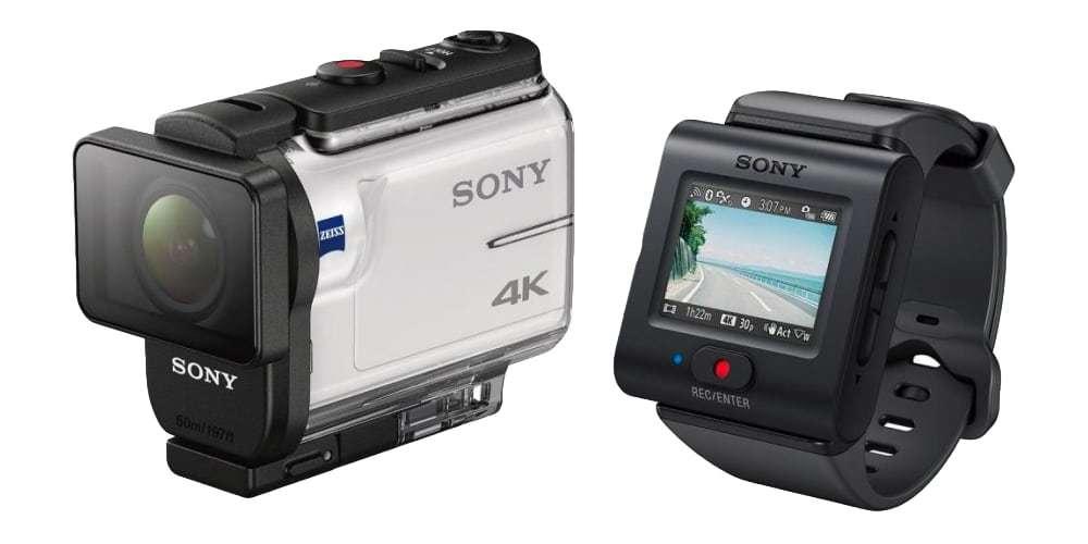 Экшн-камера Sony FDR-X3000R в боксе и с пультом