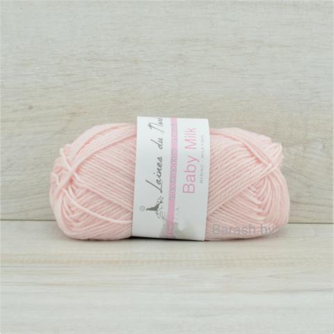 Пряжа Baby Milk (Бэби милк) Светло-розовый. Артикул: 3