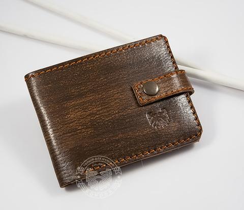 wB154 Удобный мужской кошелек с отделением для купюр, карт и монет