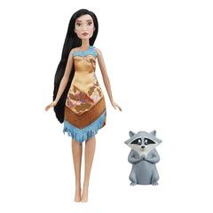 Кукла Дисней Покахонтас с питомцем