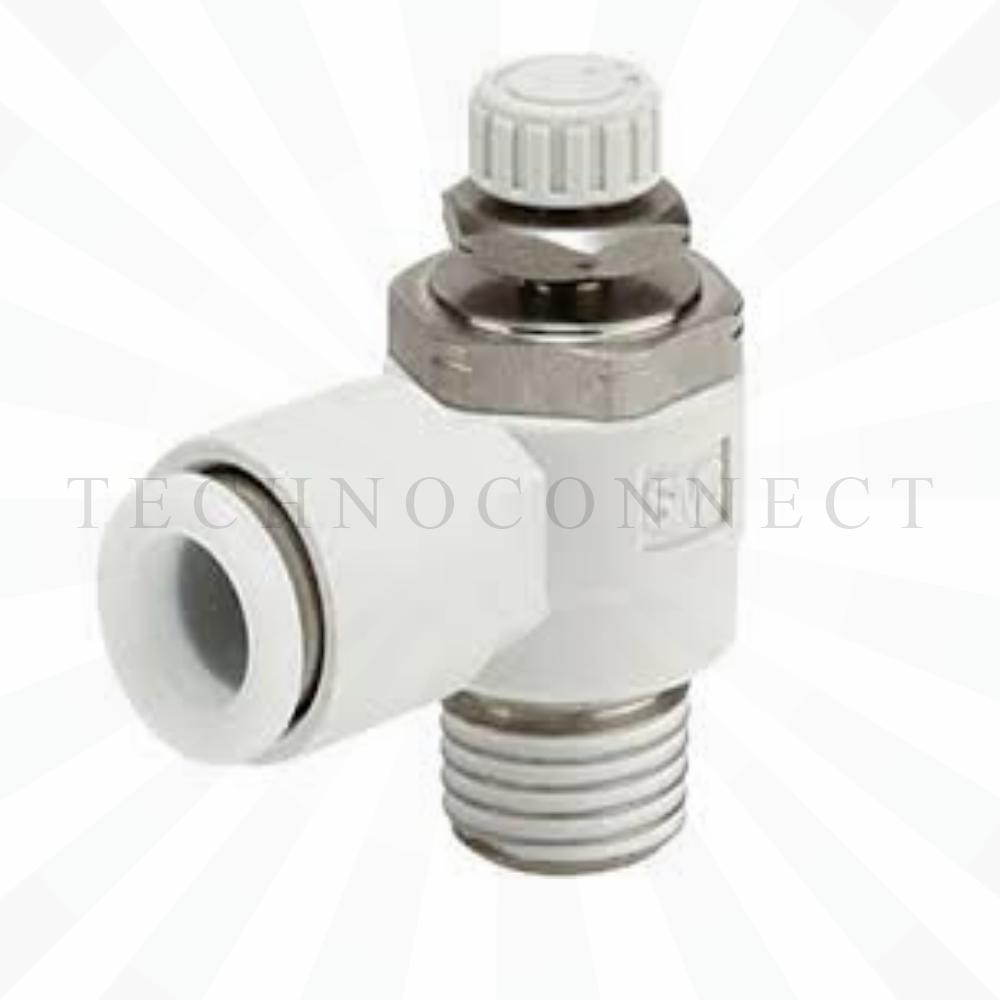 AS4201F-04-10S  Дроссель с обратным клапаном, R1/2