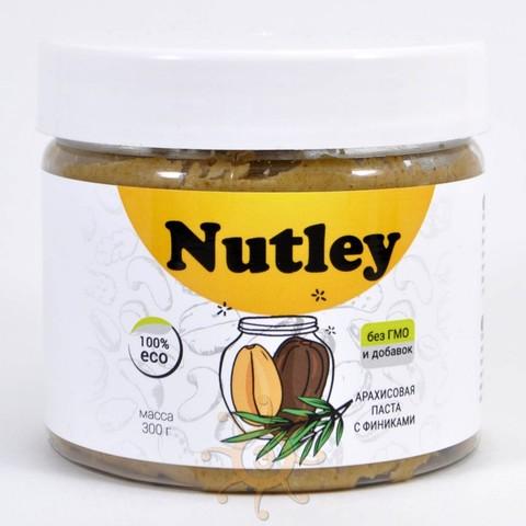 Паста арахисовая с финиками Nutley, 300г
