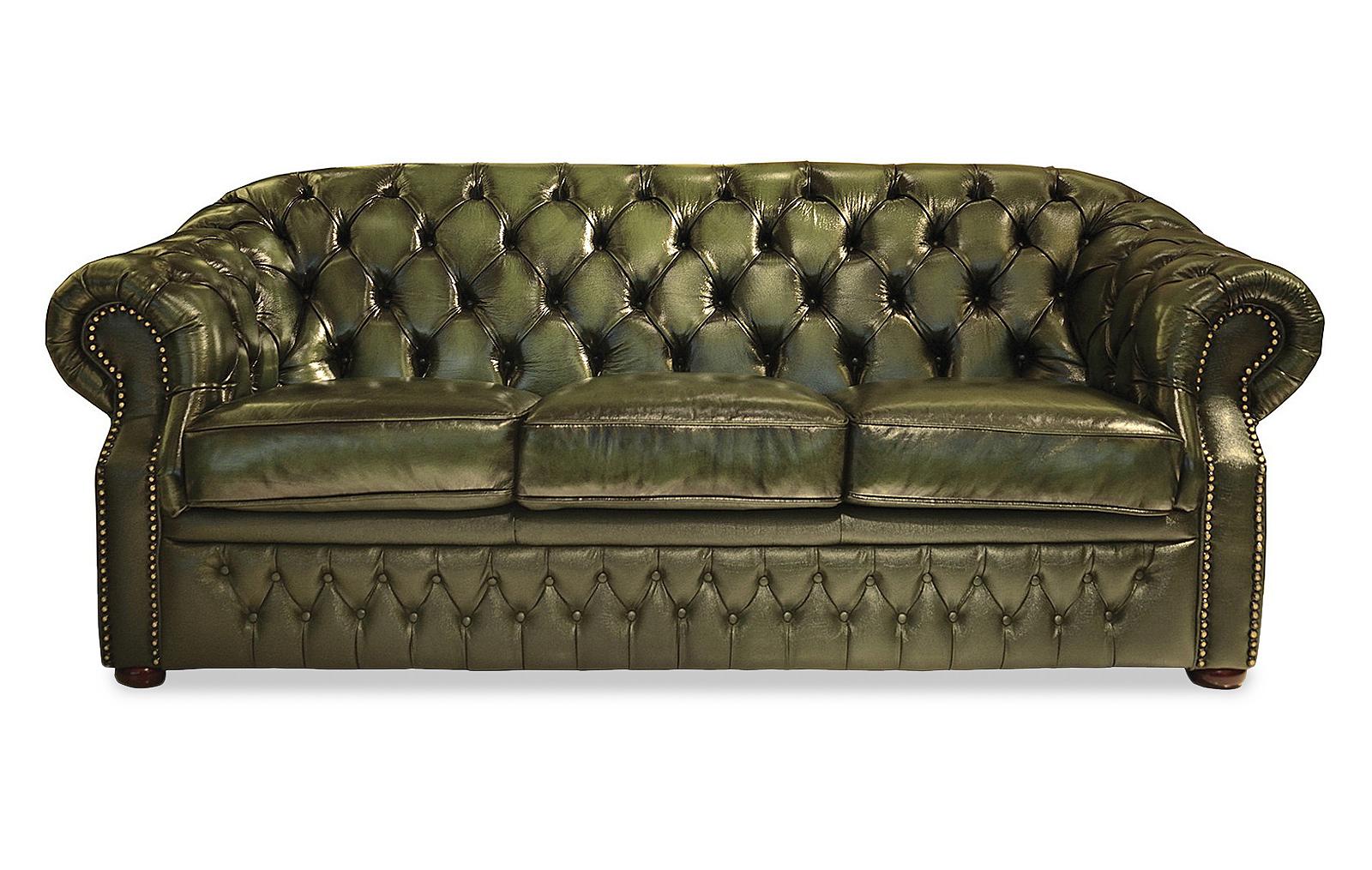 Диван-кровать ESF B-128 (3-х местный) зеленый