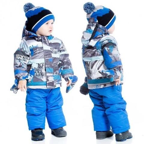 Комплект для мальчика Deux par Deux голубой