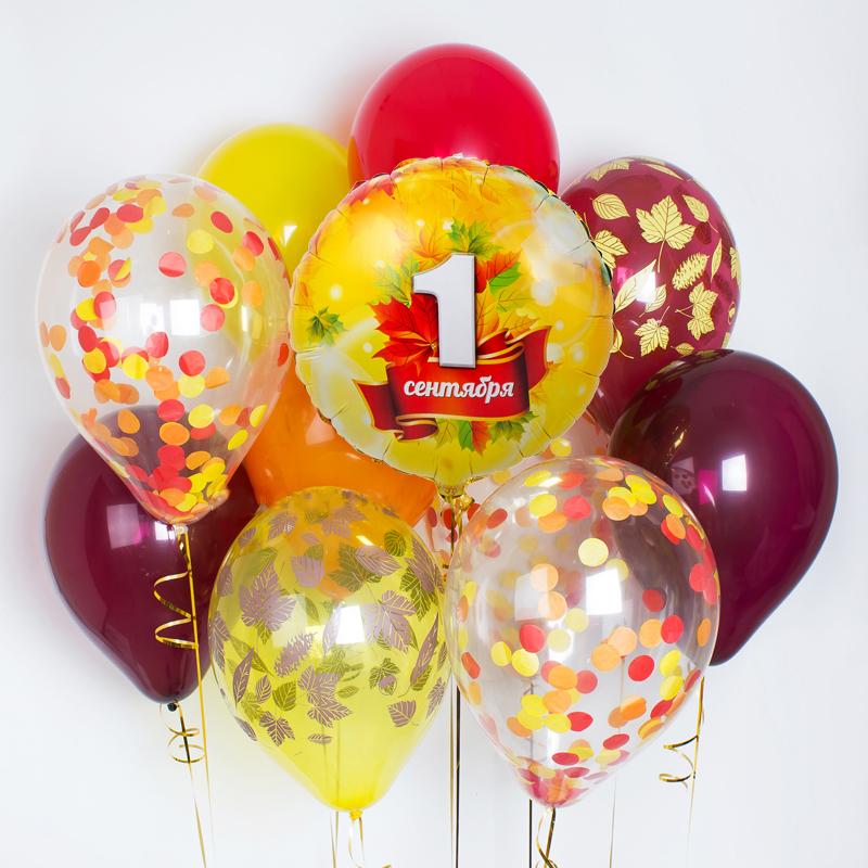 Купить воздушные шары ко дню знаний в Перми