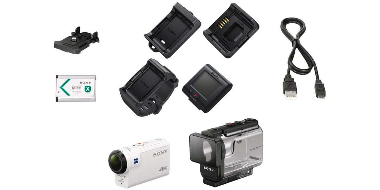 Экшн-камера Sony FDR-X3000R комплект