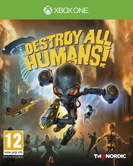Xbox One Destroy All Humans! Стандартное издание (русские субтитры)