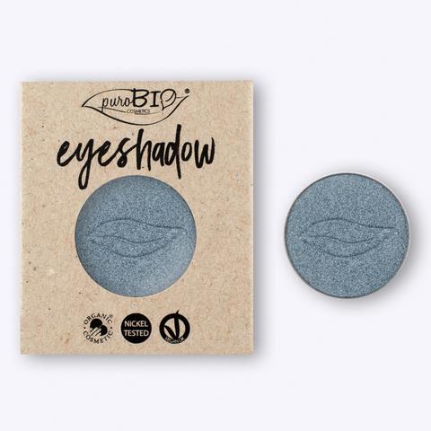 Тени для глаз PuroBio Тон 09 бледно-голубой 2,5 гр РЕФИЛЛ