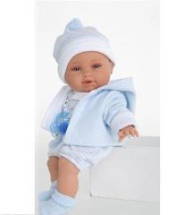 Juan Antonio munecas Кукла Рон в голубом, плачущая, 36 см (1371B)
