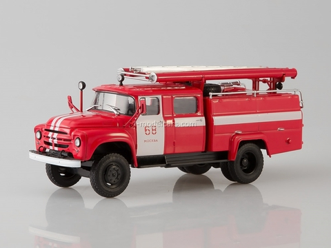 ZIL-130 AC-30(130)63A Moscow №68  fire engine 1:43 AutoHistory