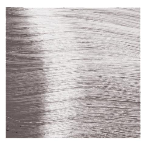 Крем краска для волос с гиалуроновой кислотой Kapous, 100 мл - HY 9.012  Очень светлый блондин прозрачный табачный