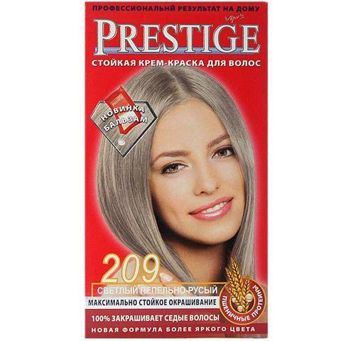 Краска для волос Prestige 209 - Светлый пепельно-русый