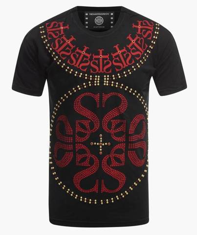 Футболка The Saints Sinphony INSIGNIA CHESTPIECE RED GOLD