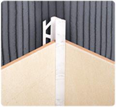 Уголок для плитки 8мм внутренний многотонный