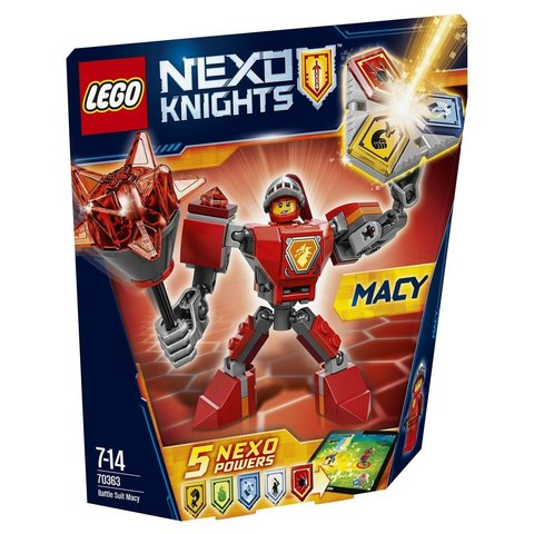 LEGO Nexo Knights: Боевые доспехи Мэйси 70363 — Battle Suit Macy — Лего Нексо Рыцари