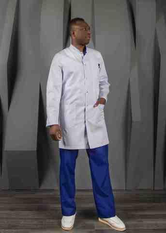 Халат медицинский муж. М-047 ткань Элит-145