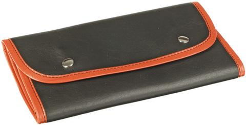 Футляр-рулон MARCO чёрный с красной окантовкой