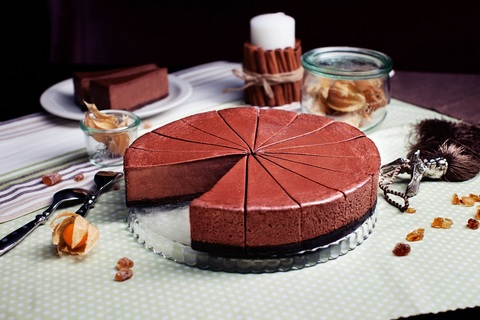 Чизкейк шоколадный 1,2кг