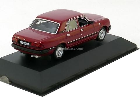 GAZ-3110 Volga dark red 1997 IST006 IST Models 1:43